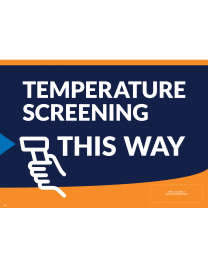 Help Promote Good Practices With Temperature Screening Yard Signs.