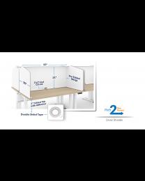 Desk Shields (10/Pack)