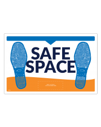 Safe Space Elevator Floor Decals (5/Pack)