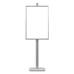 Poster Stand 6ft 2 sided (Poster Stand Only, Inserts Purchased Separately)