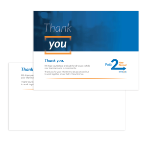 Thank You Cards Fillable PDF - Free Download