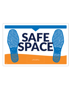 Safe Space Elevator Floor Decals (5/Pack)